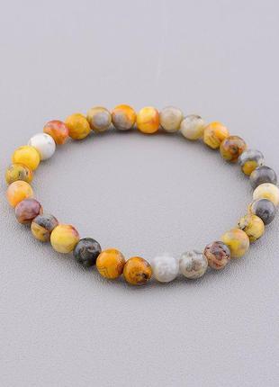 Браслет 'sunstones' яшма 18 см. 0761310