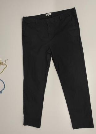 Женские черные брюки размер 46