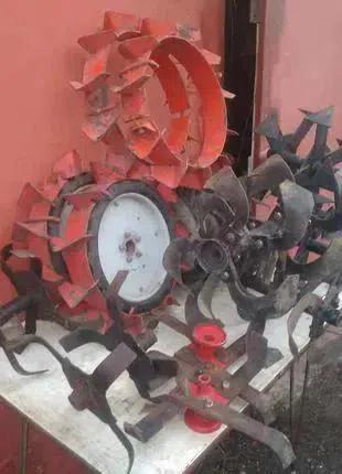 Навесное оборудование на мотокультиватор Крот
