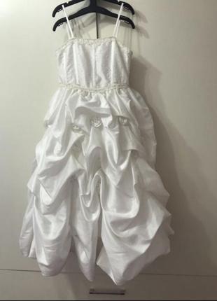 Нарядное новогоднее платье для девочки 5 - 7 лет 116 рост