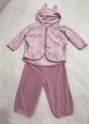 Спортивный костюм для новорождённых для девочки