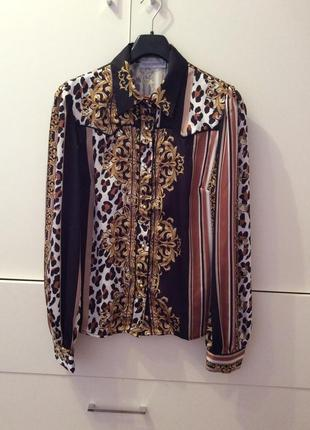 Шикарная итальянская блуза rinascimento  xl