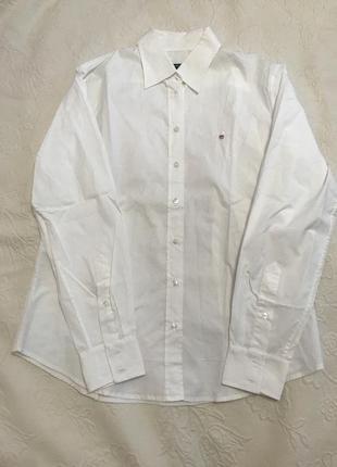 Женская рубашка белая gant