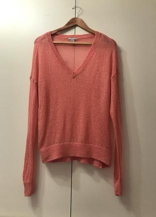H&m свитер пуловер паутинка мохер размер м