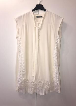 Блуза бежевая twinset размер м -l