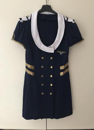 Костюм стюардессы платье для ролевых игр