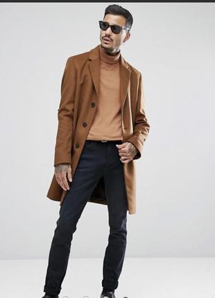 Мужское пальто шерсть размер 50 - 52 Hugo Boss