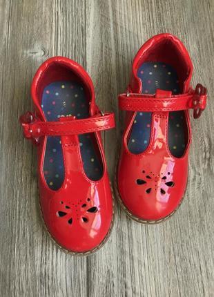 Туфли лаковые tu 25,5