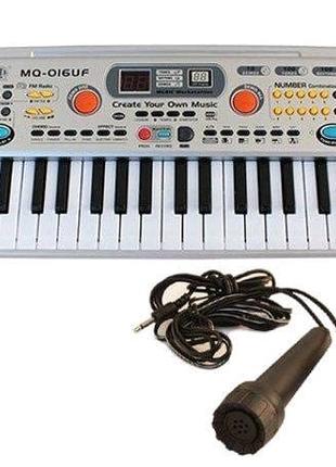 Синтезатор з мікрофоном