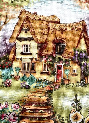 Набор для вышивки крестом Лето в деревне 46*33.5 см