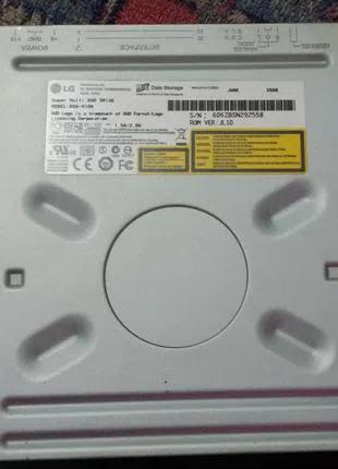 Работающий IDE DVD-привод LG GSA-H10N черный
