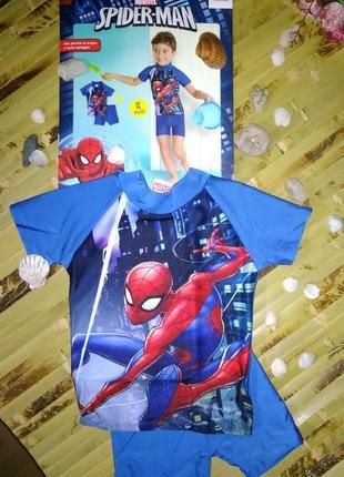 Купальный костюм  marvel spider-man uv 50+ 74-80 и 86-92