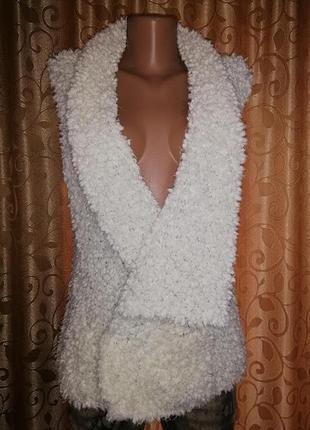 🎀🎀🎀стильная женская белая жилетка, безрукавка next🔥🔥🔥