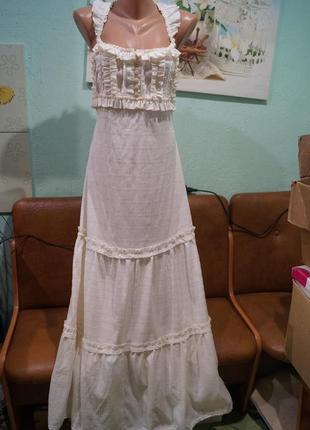 Шикарное платье макси р.46-48,украина