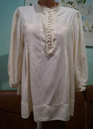 Шикарная блуза р.42,бренд h&m