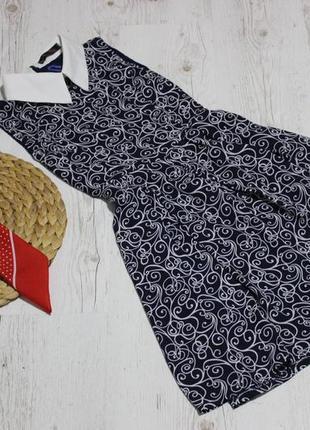 Легкое платье с воротником, подкладкой