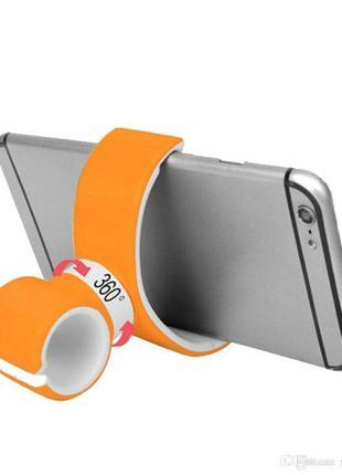 Держатель для смартфона Lucky Lock Yellow (поворот 360°)