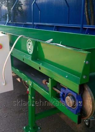 Конвейерная линия для транспортировки овощей