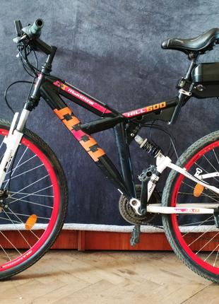 Электро велосипед горный с передним мотор-колесом