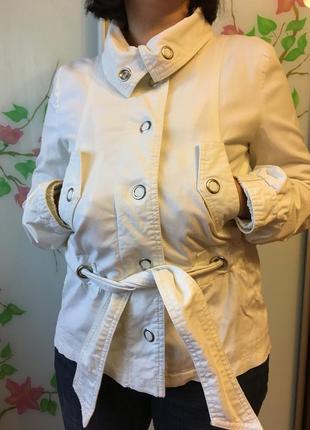 Стильный натуральный жакет куртка