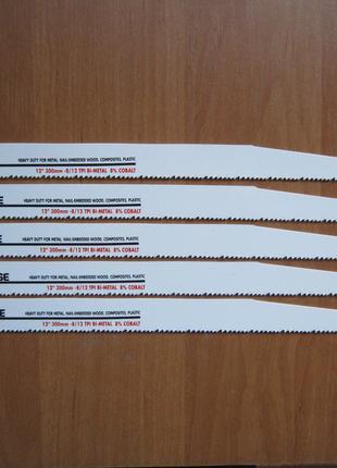 Morse 8/12TPI 12 дюймов 30см полотно для сабельной пилы