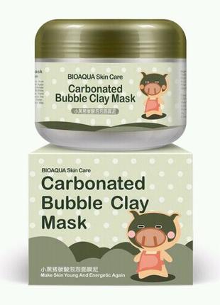 Кислородная маска BIOAQUA Carbonated Bubble Clay Mask (100мл)
