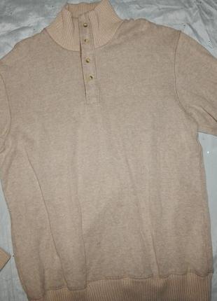 Marks&spencer свитер мужской стильный модный с горлом рм blue ...