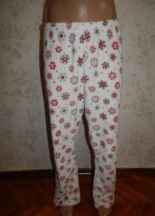 Matalan штанишки плюшевые домашние р18-20 большой размер