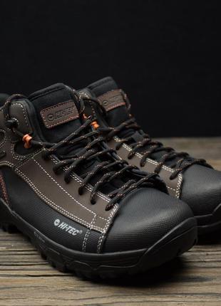 Мужские зимние ботинки hi -tec trail ox chukka i waterproof ор...