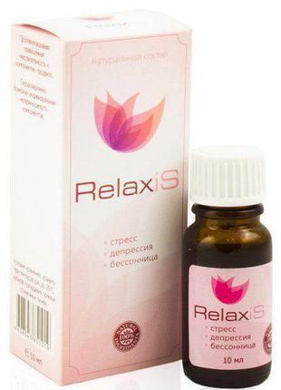 RelaxiS - Капли для борьбы со стрессом, бессонницей и депресси...