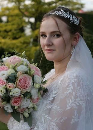 Весільна шикарна сукня)🥰🥰🥰