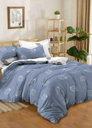 Сатиновое хлопковое постельное белье полунычка люкс, все размеры