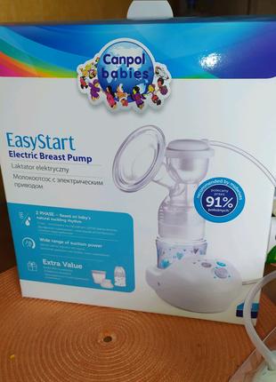 Продам молокоотсос электрический Canpol Babies EasyStart