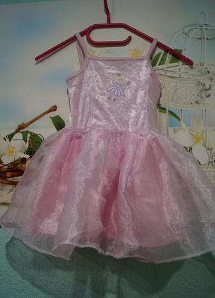 Карнавальное платье на девочку 1,5-2 годика,бренд next