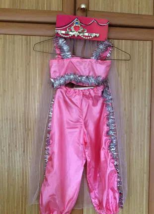 Новогодний детский костюм восточной красавицы