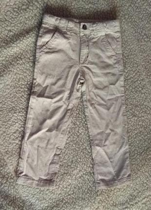 Полосатые штаны 3-4 года
