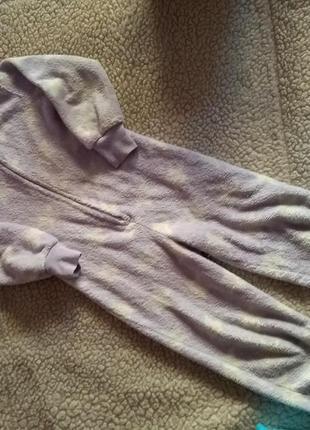 Мягкая слип пижама кигуруми 4-5 лет