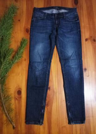 Узкие джинсы guess, скини, с низкой посадкой