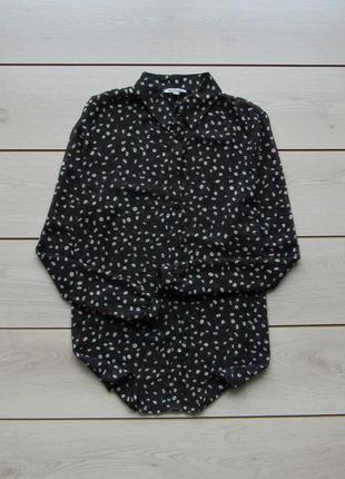 Шифоновая рубашка в мелкий принт от bandolera
