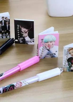 Гелевые ручки с корейской группой BTS
