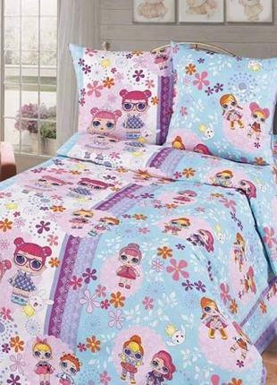 Детский постельный комплект L.O.L