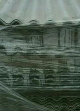Шифер восьми волновой бу чищеный