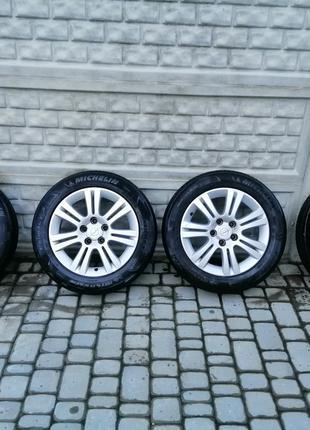 Титановые диски запасное колесо резина зима лето