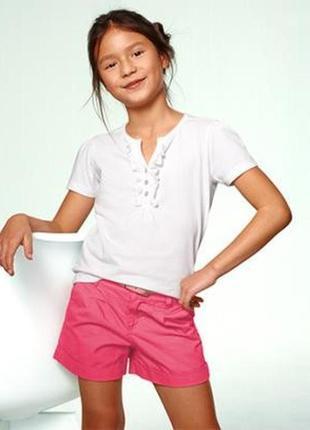 Яркие летние шорты для девочки от tcm tchibo, германия, рост 1...