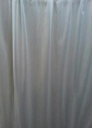 Белая тюль с вышивкой на шторной ленте