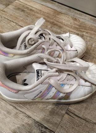 Кроссовки adidas на ножку 17-17,5 см