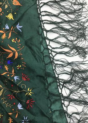 Большей шелковый платок, чистый шёлк