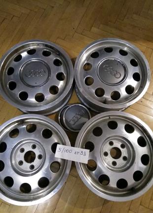 Диски р15 5/100, vag, Audi. Состояние,, Завод,,