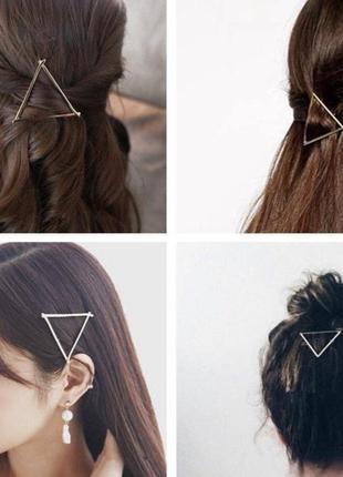 Заколка для волосся ( трикутник)