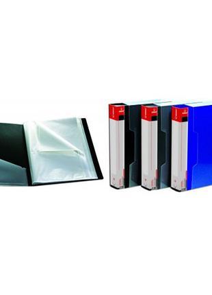 Папка на 100 файлов NORMA 5031 А4 пластиковая + бокс (1/6/24)